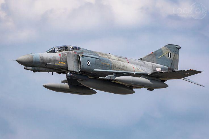 https://flic.kr/p/VxjPbY | Hellenic Air Force McDonnell Douglas F-4E Phantom II | Florennes, Belgium