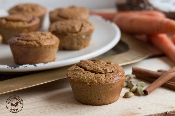 Paleo recept- kruidige wortel-kokosmuffins