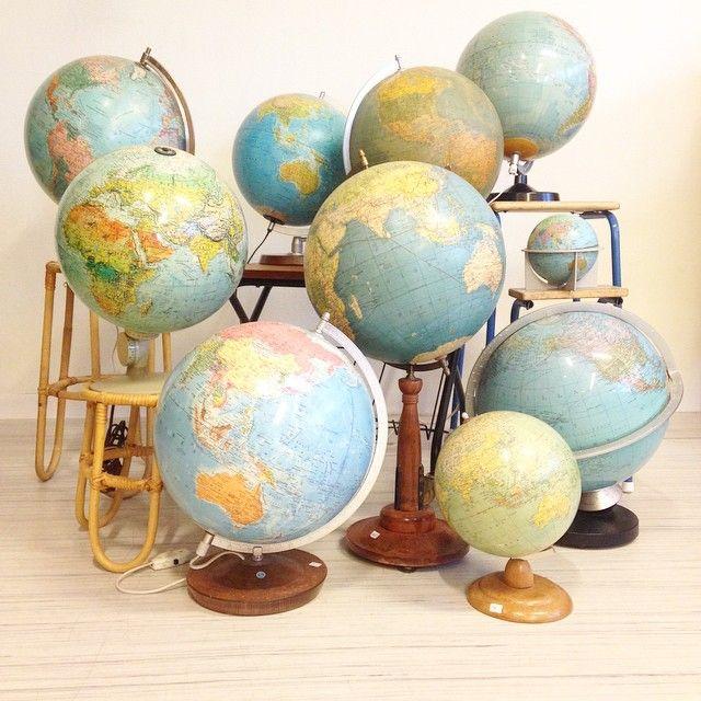 Jordglober vintageglobe,jordglober,globe,jordglob