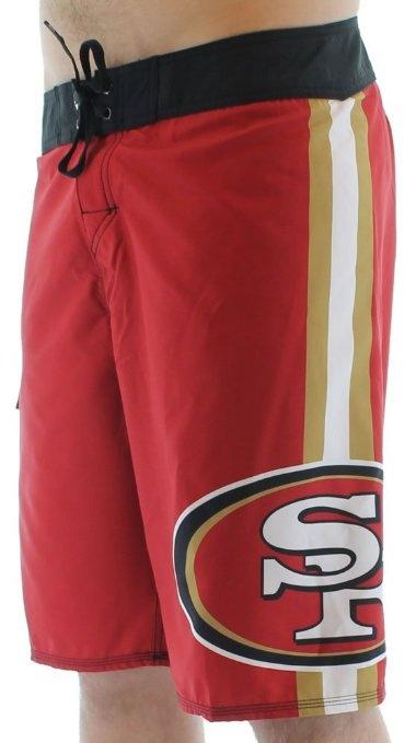 Amazon.com  Quiksilver NFL San Francisco 49ers Men s Boardshorts Board  Shorts Swim  Clothing   THE CLOVER PINBOARD XII   Sf niners, San Francisco  49ers, ... e01080f836