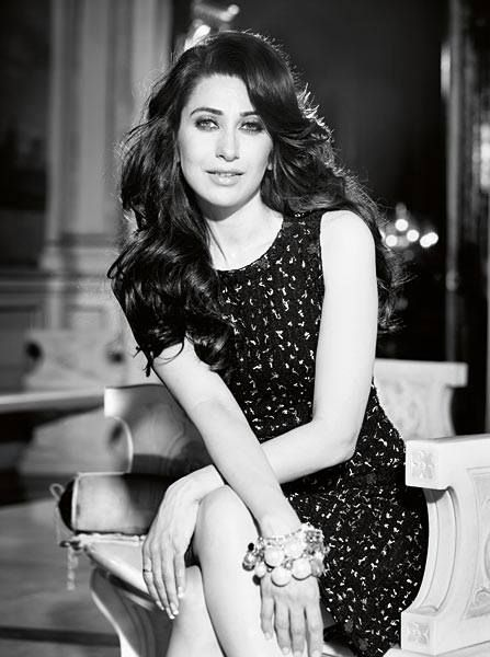 Karishma kappor at her loveliest in black sequined dress