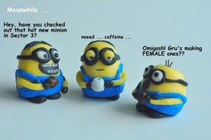 How to Make Fondant Minions for a Despicable Me Birthday Cake. Like it! | The Likebook Blog