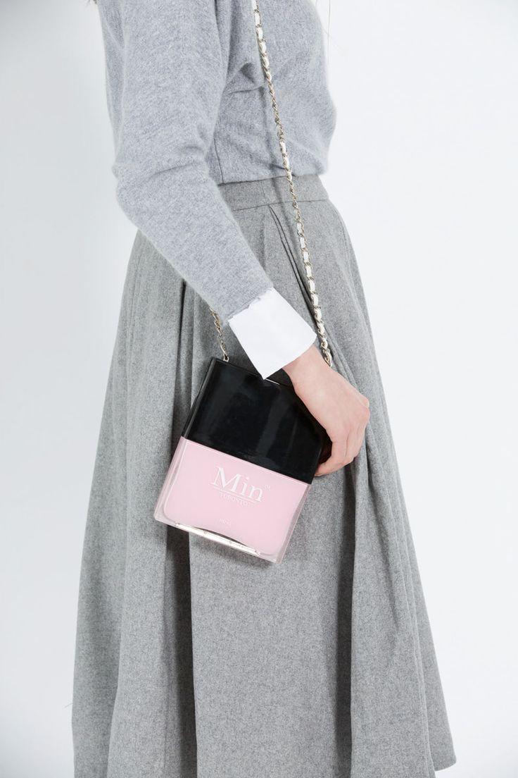 Grey-Midi-Wool-Skirt