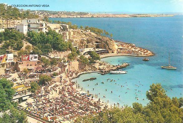 PLAYAS DE ILLETAS 1969 - (Mallorca)