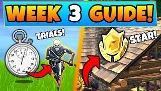 week 3 timed trials