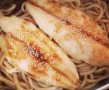 Varoma Teriyaki Style Fish & Udon Noodles with steamed veggies | Official Thermomix Recipe Community