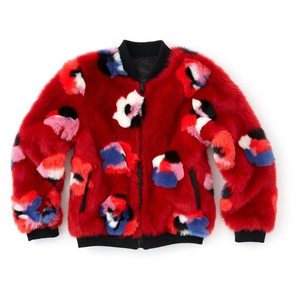 reversible bomber jacket ($50) ❤ liked on Polyvore featuring outerwear, jackets, flower print jacket, floral print jackets, blouson jacket, bomber jackets and red floral jacket