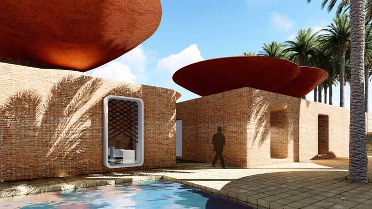 Concave Roof by BMDesign Studios, rainwater collection roof designs, Concave Roof for collecting rainwater, double roof system for rainwater harvesting, natural cooling roofs