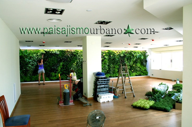 7 best images about jardin vertical alicante restaurante - Paisajismo urbano ...