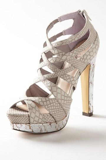 Luichiny On My Mind Platform Sandal