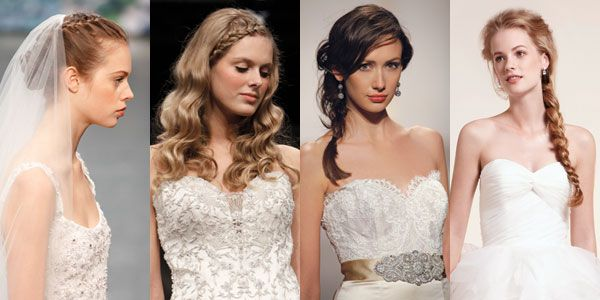 Whether a sweet-and-low fishtail or a crown-topping compact coil, a plait can make an ultra-femine statement.: Brides Weddings, Bridal Hairstyles, Hairstyle Wedding, Bride Hairstyles, Hairstyles Engagement, Wedding Hairstyles, Hair Trends, Hairstyles 101