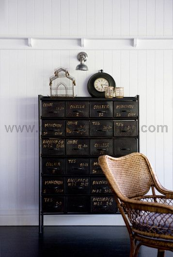 lily-G interior (customer in West End)Decor, Ideas, White Houses, Favorite Things, Industrial, Interiors, Black Cabinets, Cabinets Storage, Furniture