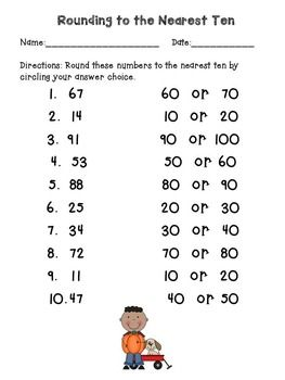 rounding to the nearest 100 worksheets