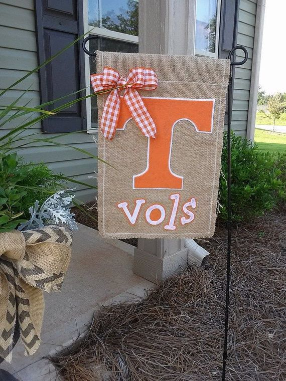 8 Best Tennessee Volunteers Images On Pinterest Burlap