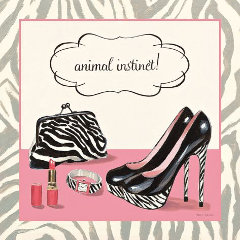 Animal Instinct Print by Fabiano Marco at Art.com