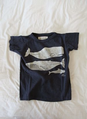 Whale tee...a know a certain boy who would looooove this.