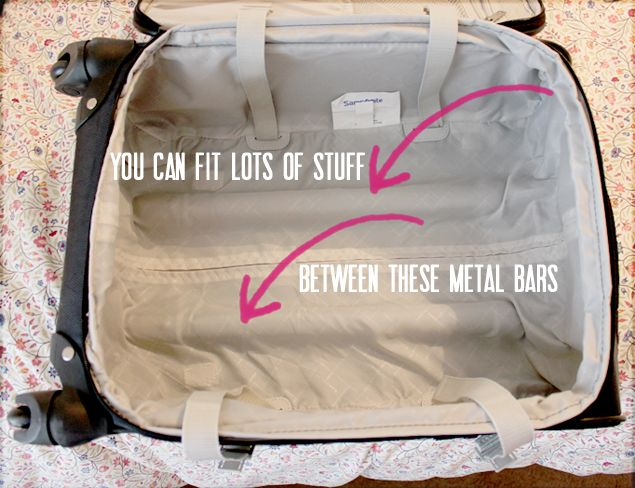 how to pack a carry on suitcase for a week