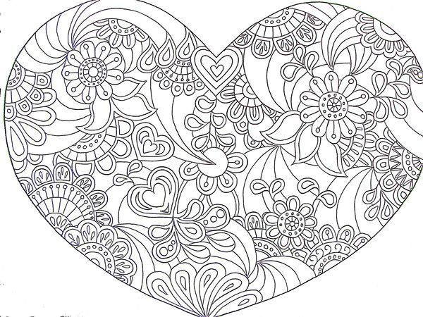 Coloring Pages Of Flowers For Free : 34 best coloring pages images on pinterest