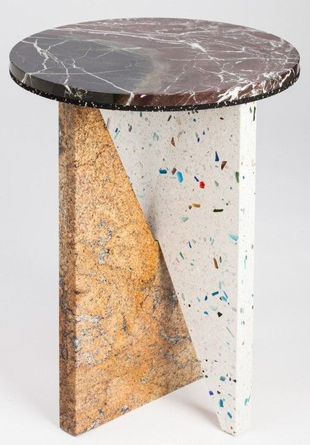 Jonathan Zawada's Flat-packed Marble Tables