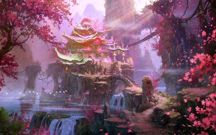 Fantasy Landscapes | Fantasy - Landscape Wallpaper