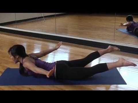 POP Pilates: Back Attack! A back workout that does not require any equipment. These moves are designed to tone and sculpt your back.