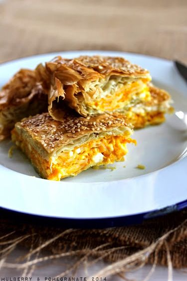 162 best food its all greek to me images on pinterest cooking mulberry and pomegranate greek pumpkin and feta pie i kolokythopita forumfinder Image collections