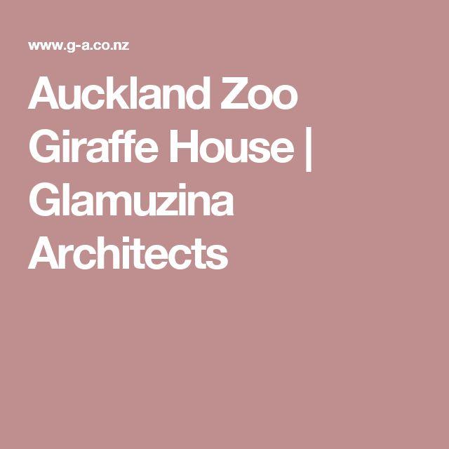 Auckland Zoo Giraffe House    |    Glamuzina Architects