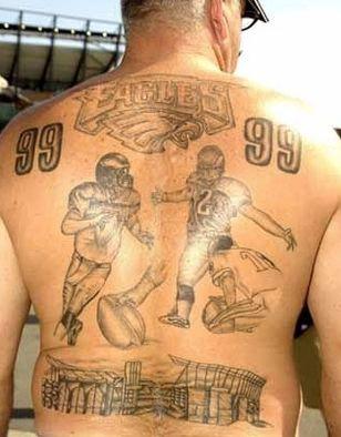 32 best bad nfl tattoos images on pinterest nfl football bad tattoos and needle tatting. Black Bedroom Furniture Sets. Home Design Ideas