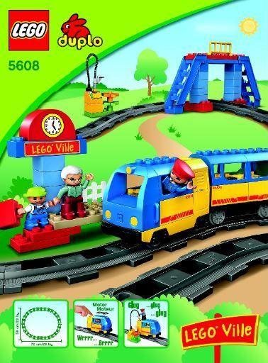 DUPLO 5608 Train Starter Set DUPLO Town http://cache.lego.com/bigdownloads/buildinginstructions/6034271.pdf
