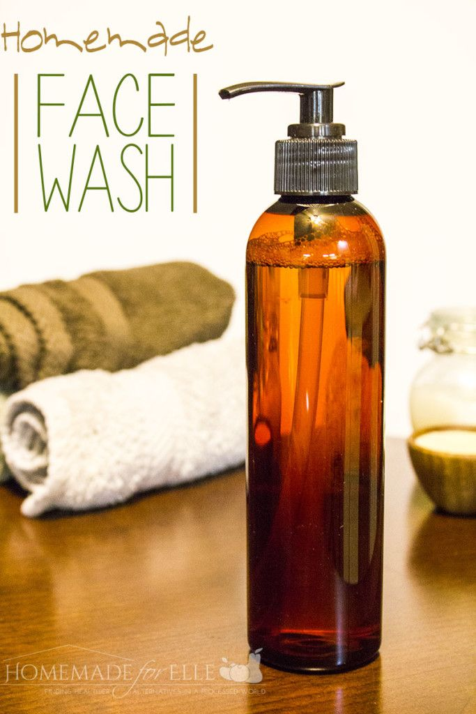homemade face wash - homemadeforelle