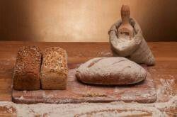 Pan integral con germen de trigo