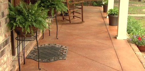 how to prepare for cement slab