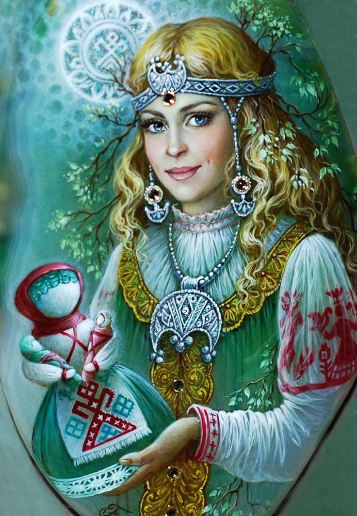 Картинка богини леля