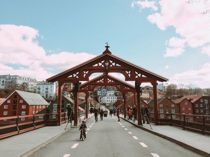 Old Bridge, Trondheim Norway — Terracotta Tales