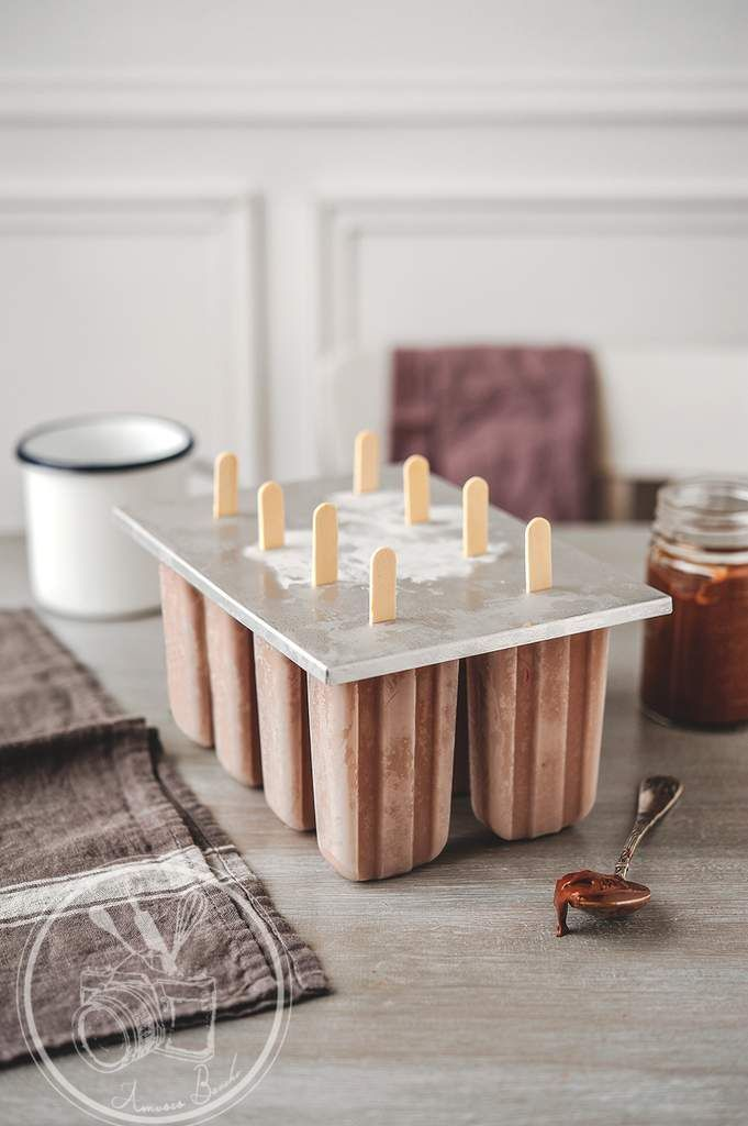 no-churn nutella ice cream pops   andwhatelse. http://www.750g.com ...