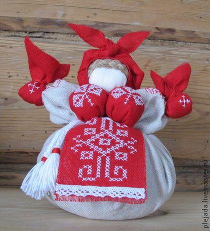 Кубышка-Травница (обережная кукла) - обережная кукла,оберег для дома,оберег в подарок