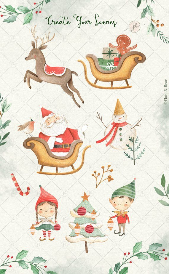 Winter Christmas Clip Art