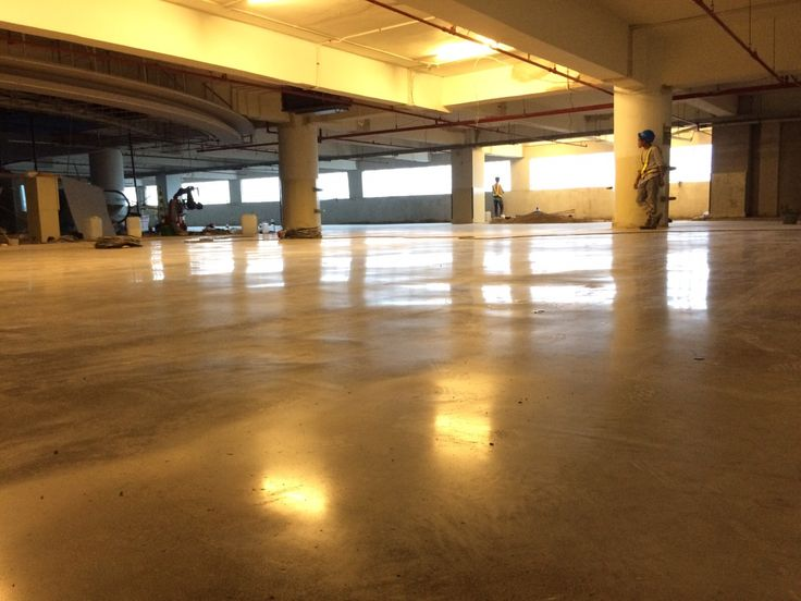 PIK Avenue (Mall in Jakarta) Polished Concrete