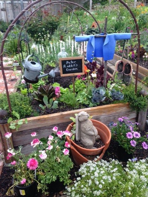 Raised Vegetable Garden Rabbits