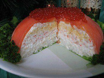 Рыбный кекс