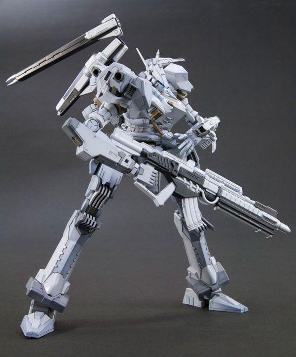 V.I. Series Armored Core Aspina White Glint ARMORED CORE 4 Ver. Plastic Kit
