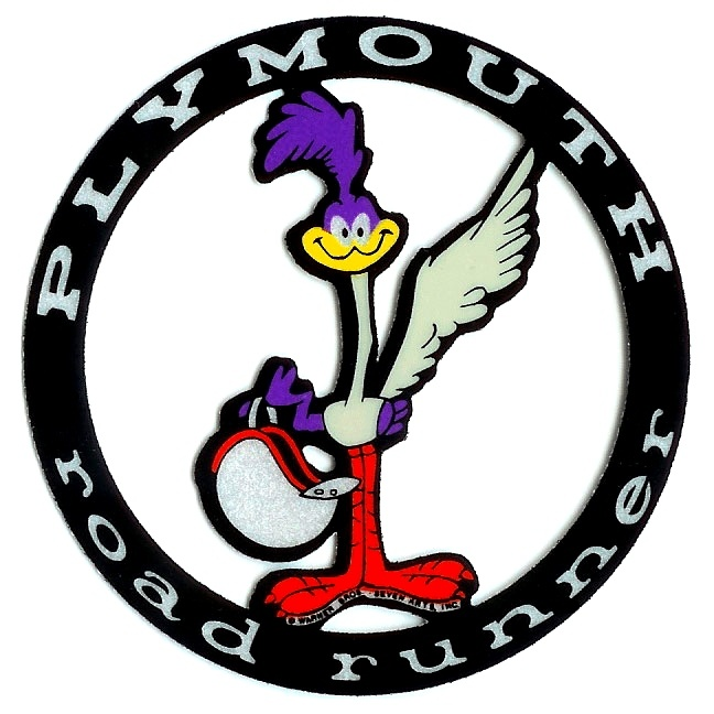 Plymouth Roadrunner Emblem Cars And Gearhead Stuff Pinterest Plymouth Mopar And Cars