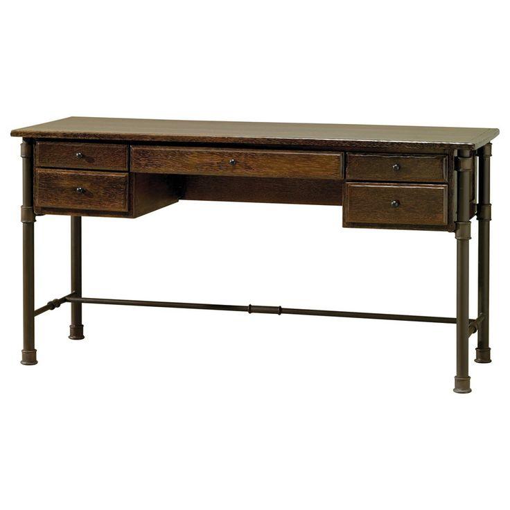 Desk - Dark Natural Finish