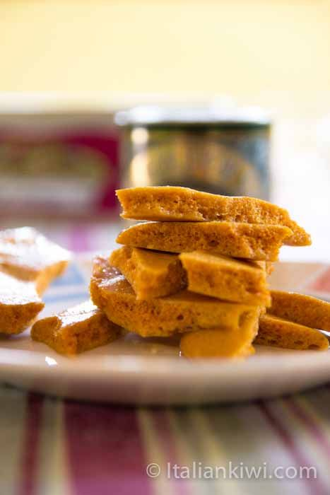 Hokey Pokey is a crunchy caramel-like sweet from New Zealand with only 3 ingredients. Very easy to make at home!