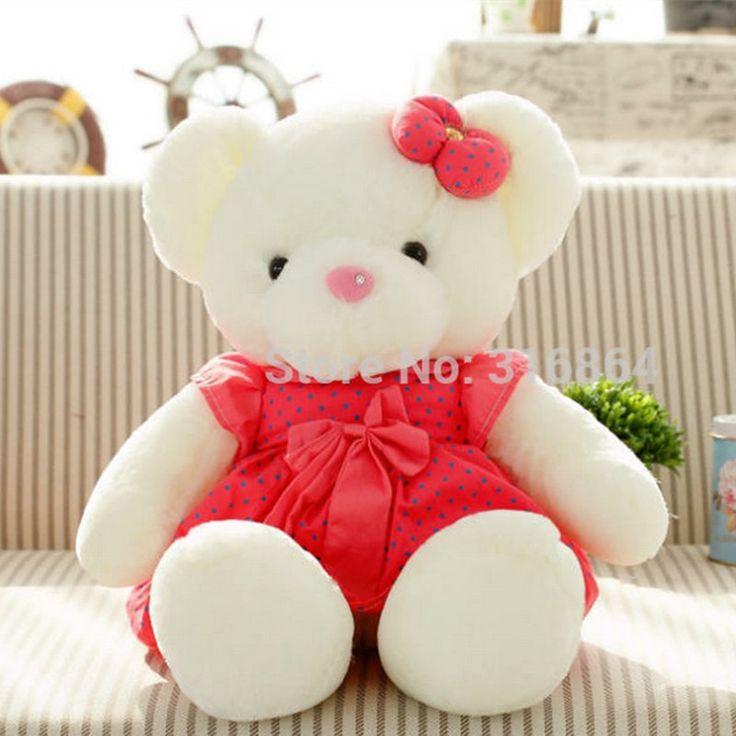 >> Click to Buy << Factory Supply 90cm Sze Pretty Teddy Bear Plush Toy Bear Doll With Skirt Birthday Gift teddy Bear Soft Stuffed Toy #Affiliate