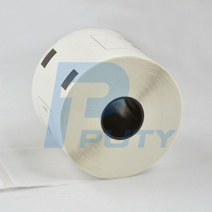 4 rolls lot white paper shipping label compatible  DK-11202 62mm*100m thermal paper rolls for QL label printers #Affiliate