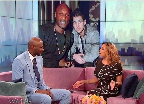 Lamar Odom's Emotional Wendy Williams Interview: Talks Rob Kardashian & Khloe [Video] -  Click link to view & comment:  http://www.afrotainmenttv.com/lamar-odoms-emotional-wendy-williams-interview-talks-rob-kardashian-khloe-video/
