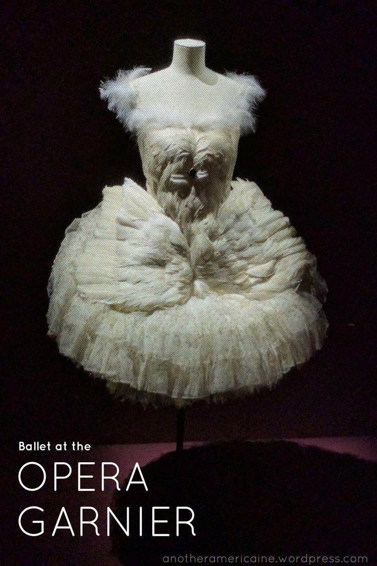 Ballet at the Palais Garnier Opera
