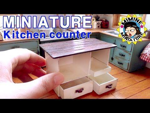 미니어쳐 화덕 & 군고구마 만들기 (아뜨거뜨거 ㅋㅋㅋ) Miniature - Oven & Sweet potato / 미미네 미니어쳐 - YouTube