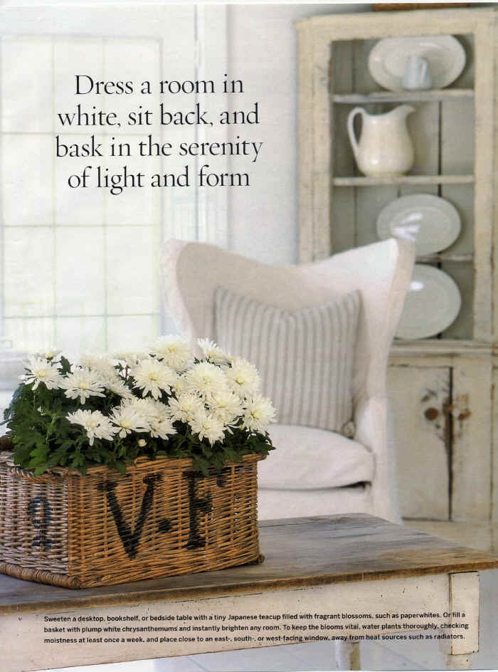 dress a room in white